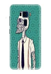 Asus Zenfone 3 Laser Covers, Designer Printed Back Case, Back Cover by CareFone