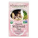 Earth Mama Angel Baby Organic Milkmaid Nursing Tea, 16 Teabags/Box  (Pack of 3)