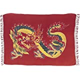 Dragon Sarong, Red Background