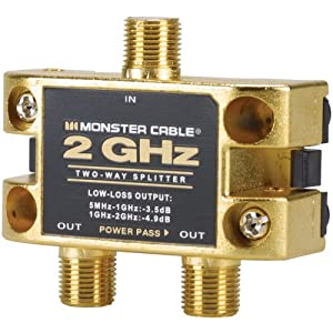 Amazon Com Two Gigahertz Low Loss Rf Splitters For Tv And