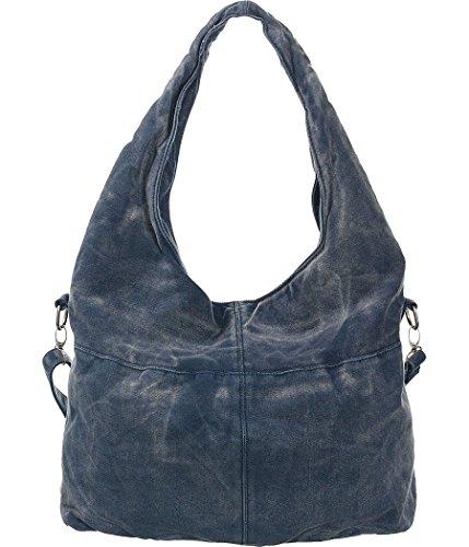 Denim Hobo Blue Oversized Slouchy Shoulder Bag