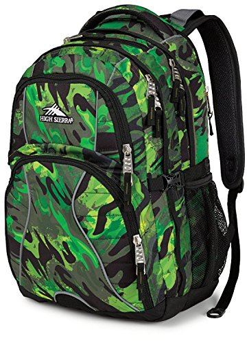 High Sierra Swerve Backpack (Cognito / Black)