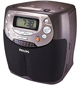 philips aj3940 cd dual alarm clock radio discontinued by manufacturer electronics. Black Bedroom Furniture Sets. Home Design Ideas