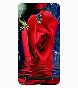 ColourCraft Lovely Rose Design Back Case Cover for ASUS ZENFONE 6 A600CG
