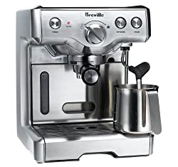 Breville 800ESXL 15-Bar Triple-Priming Die-Cast Espresso Machine made by Breville