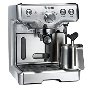 Breville 800ESXL Commercial 15-Bar Triple-Priming Die-Cast Espresso Machine from Breville