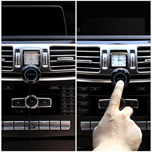 iClever Himbox HB01 Bluetooth 4.0 Hands-Free Car Kit for Cars with 3.5 mm Aux In