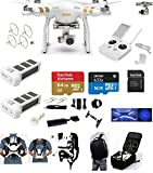 DJI Phantom 3 Professional (Pro) 4K Video Camera EVERYTHING YOU NEED Kit