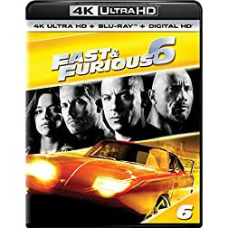 Fast & Furious 6 [4K Ultra HD + Blu-ray]