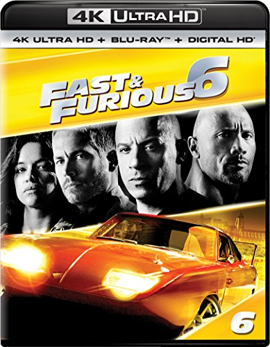 4K Blu-ray : Fast & Furious 6 (With Blu-Ray, 4K Mastering, Ultraviolet Digital Copy, Digitally Mastered in HD, Digital Copy)