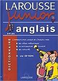 Larousse Junior : Anglais-Français, 8-11 ans