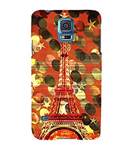 Eiffel Tower New York 3D Hard Polycarbonate Designer Back Case Cover for Samsung Galaxy S5 Mini :: Samsung Galaxy S5 Mini G800F