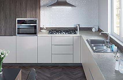 Egger Contemporary Ceramic Chalk Effect Kitchen Bathroom Laminate Worktop Offcut Work Surface 40mm Breakfast Bar - 3m x 670mm x 38mm Breakfast Bar