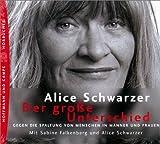 img - for Der gro e Unterschied. 3 CDs. Gegen die Spaltung von Menschen in M nner und Frauen. book / textbook / text book
