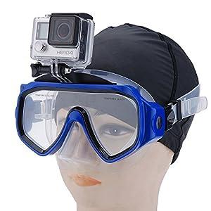 First2savvv QSJ Gafas gafas buceo Buceo Máscara de buceo para GoPro Hero4 Hero3+ Hero3 Hero2 Camera