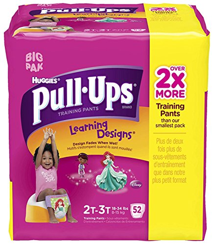 Huggies Pull-Ups Training Pants - Learning Designs - Girls - 2T-3T - 52 ct - 1