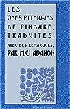 echange, troc Pindare - Les odes pythiques de Pindare: Traduites, avec des remarques, par M. Chabanon