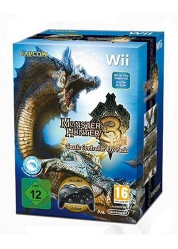 Monster Hunter Tri + Controller Pro  (Wii)