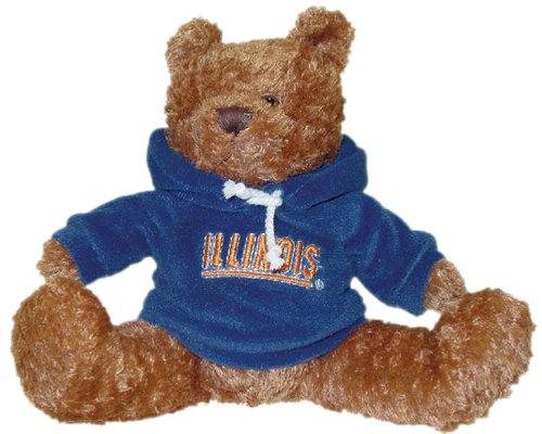 NCAA Illinois Fighting Illini Hoodie Bear