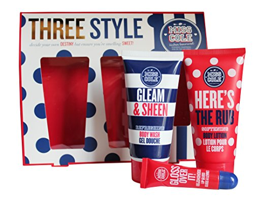 Grace Cole Signorina Cole Tre stile per gli adolescenti: 100 ml Body Wash + Lotion + Lip Gloss