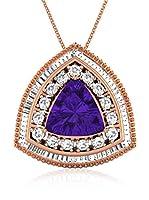Art of Diamond Conjunto de cadena y colgante Oro Rosa