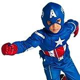 Disney Store Deluxe Marvel Captain America Avengers Costume S Small 5 - 6 2014