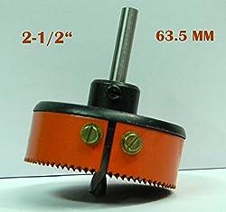 HSS METAL CUTTING HOLE SAW CUTTER (2-1/2) 63.5 MM - SHARP
