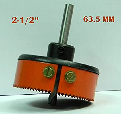 HSS Metal Hole Saw Cutter (63.5mm)