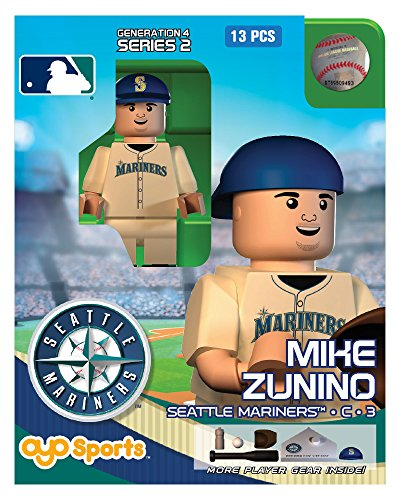 MLB Seattle Mariners Mike Zunino OYO G4S1 Minifigure