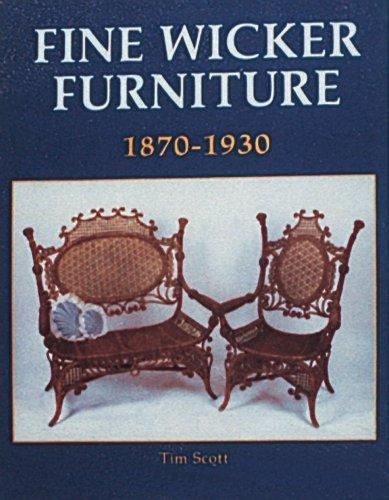 Fine Wicker Furniture: 1870-1930