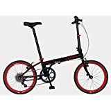 Dahon Speed D7 Obsidian Black Folding Bike Bicycle