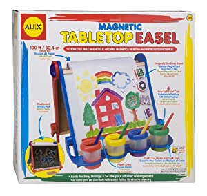ALEX® Toys - Young Artist Studio Magnetic Tabletop Easel -Wood 25E