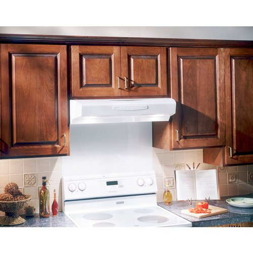Broan qs236ss allure ii under cabinet range hood 36 inch for Allure kitchen cabinets
