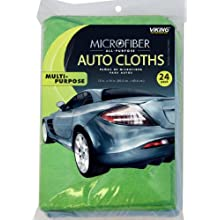 Viking Microfiber Auto Cloth - 24 Pack