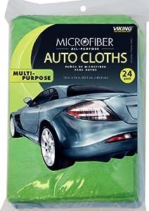 Viking Microfiber Auto Cloth - 24 Pack