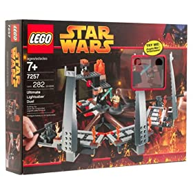 LEGO Star Wars Ultimate Lightsaber Duel