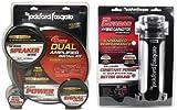 Package: Rockford Fosgate RFK4D 4/8 gauge dual amplifier install kit m... review