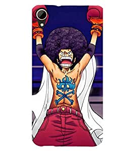 EPICCASE Angry Fighter Mobile Back Case Cover For HTC Desire 828 (Designer Case)
