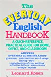 Everyday English Handbook (0385185340) by Leonard J. Rosen
