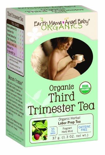 Earth Mama Angel Baby Organic Third Trimester Tea, 16 Teabags/Box  (Pack of 3)