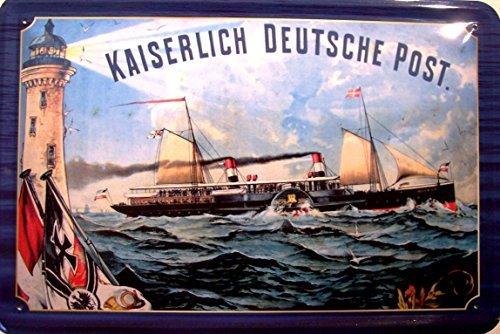 bateau-a-vapeur-kaiserlich-deutsche-post-panneau-de-tole-metal-panneau-en-etain-20-x-30-cm