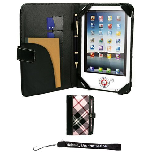 Cyber Monday Pink Elegant Leather Plaid Melrose Case for 7' in Google Android Touchpad Tablet Deals