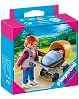Playmobil - 4756 - Jeu de construction - Maman et poussette