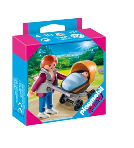 Playmobil Mother With Stroller front-981417