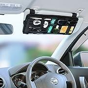 Cocoon ガジェット&デジモノアクセサリ固定ツール 「GRID-IT! 」 サンバイザーケース 車の中の小物をすっきり整理! ブラック CPG30BK