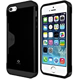 iPhone 5S Case, Phonefoam Golf Fit Case for iPhone 5/5S - Retail Packing - Black