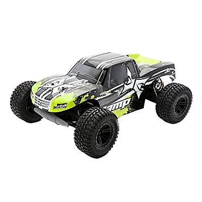 AMP MT 1:10 2WD Monster Truck: Black/Green RTR
