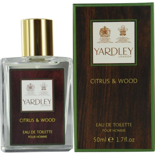 Yardley London Citrus and Wood Eau De Toilette Spray for Men 50ml