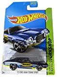 Hot Wheels 2014 Hw Workshop Performance Blue '72 Ford Gran Torino Sport 248/250
