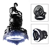 Image Portable LED Camping Lantern with Ceiling Fan